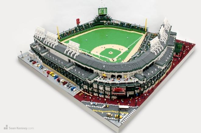 Lego stadium